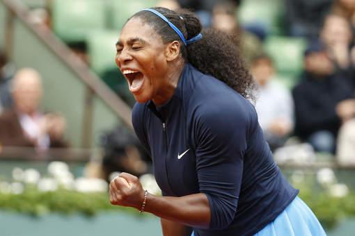 Roland-Garros: Serena Williams, comme toujours