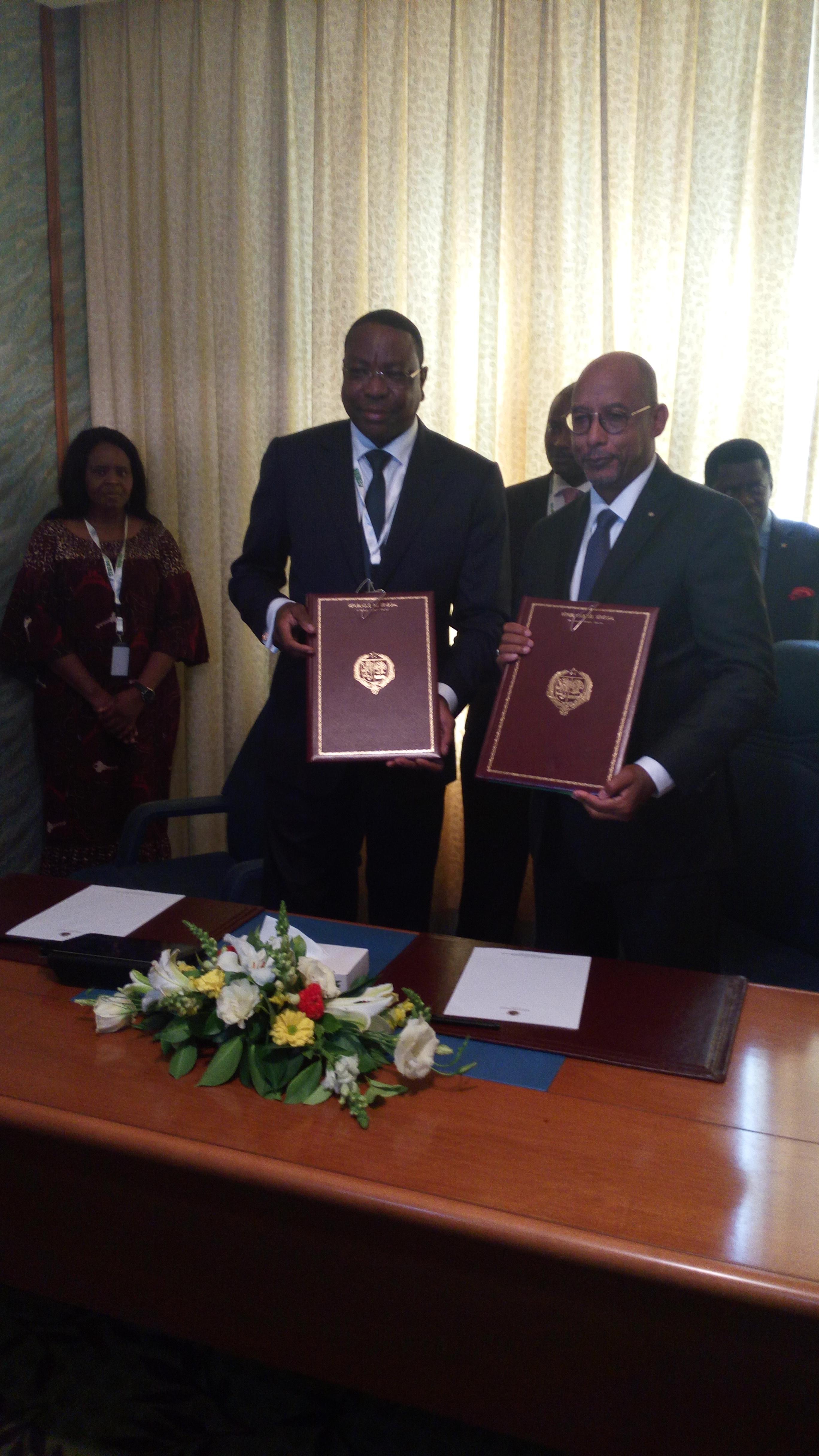 Sommet CEDEAO : Le Sénégal et le NEPAD signent un accord de siège