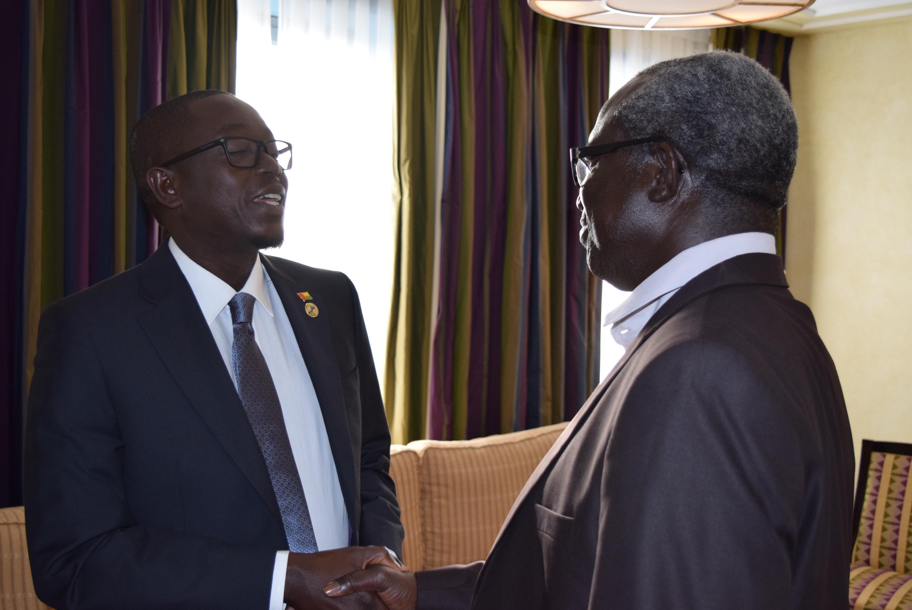 L'actuel Premier Ministre, Baciro Dja sur la crise politique en Guinée Bissau : « Nous avons la légalité constitutionnelle, la légitimité populaire, la majorité parlementaire, le soutien du peuple et de la CEDEAO »
