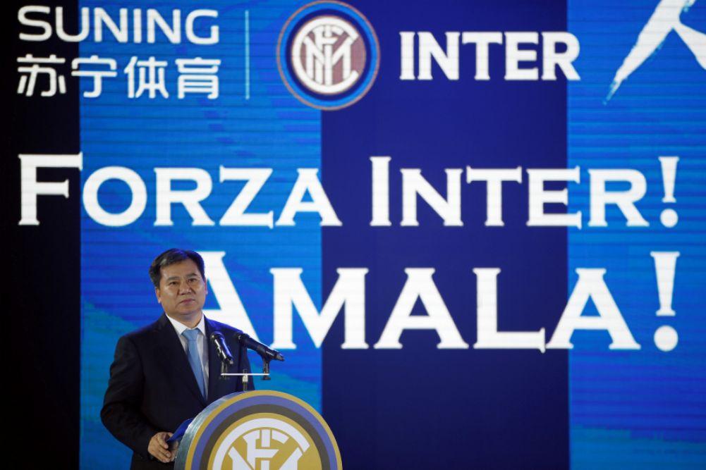 L'Inter de Milan contrôlé par le chinois Suning