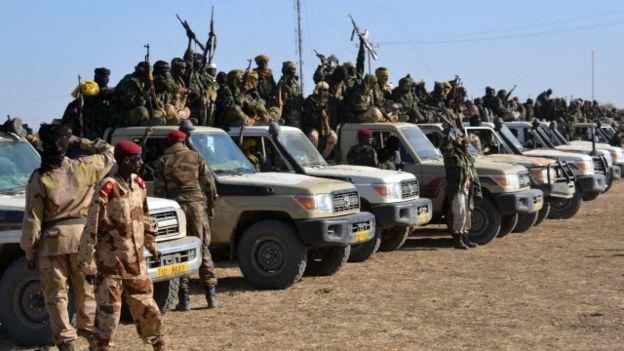 2000 soldats tchadiens au Niger