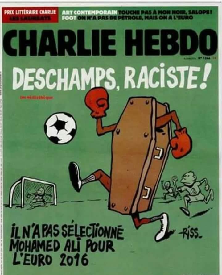 La dérive macabre et intolérable de Charlie Hebdo. Ignoble tout simplement.