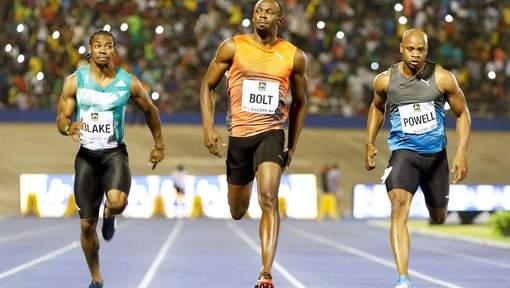 Malgré un mauvais départ, Usain Bolt court en 9.88, le 2e chrono de l'année