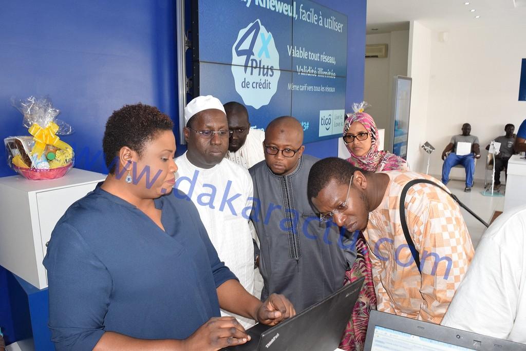 """Abdou Karim Sall dans les locaux des opérateurs de téléphonie : """"On a constaté que Tigo et Expresso sont en règle mais Orange n'a pas démarré la mise en production du système """""""
