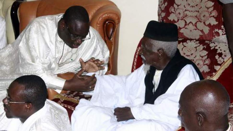 DERNIÈRE MINUTE - Le Président Macky à Tanine pour rencontrer le Khalife des Mourides