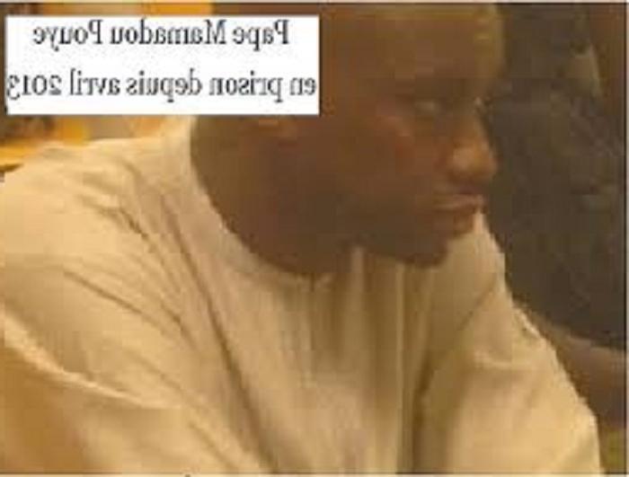BIZARRERIE : Malgré sa liberté conditionnelle, Pape Mamadou Pouye ne peut toujours pas quitter le pays