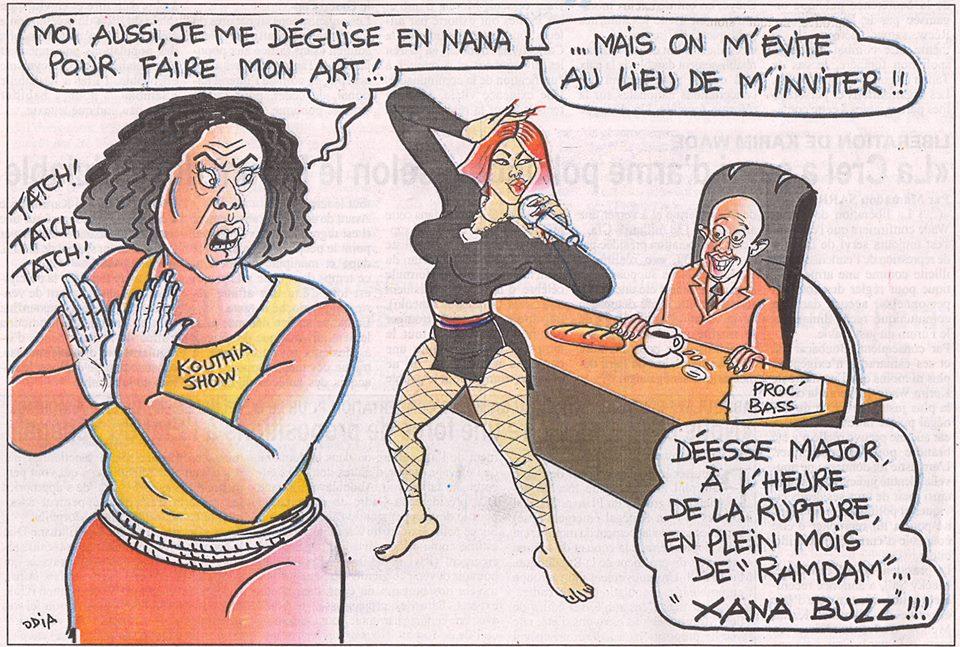 Déesse Major, Kouthia et le Ndogou du Procureur....
