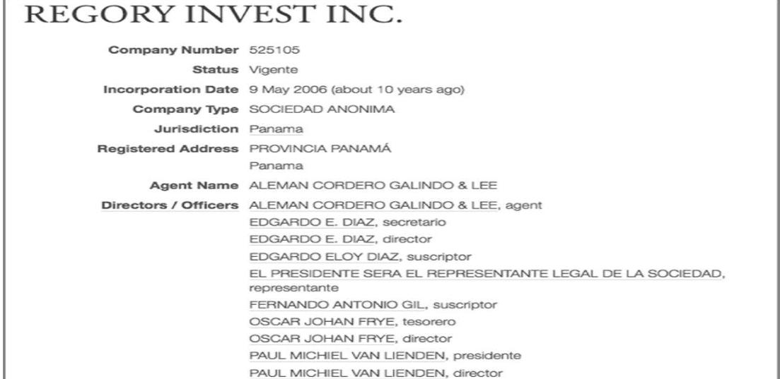 Sur les traces de la troisième société offshore de Pape Mamadou Pouye : La face cachée de Regory Invest