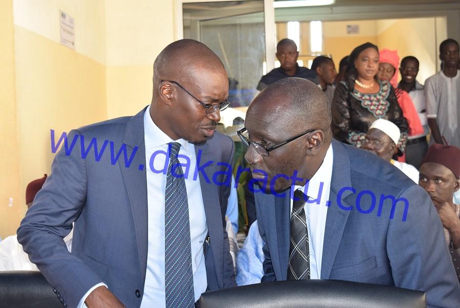 SN/HLM : Les images de la passation de service entre Mamadou Kassé et Ibrahima Wade
