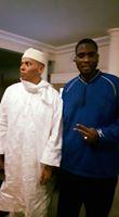 Les premières images de Karim Wade aux Almadies chez Me Madické Niang