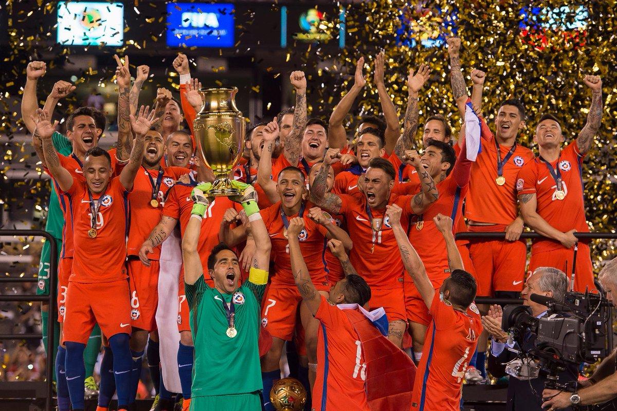 Le Chili remporte la Copa America 2016