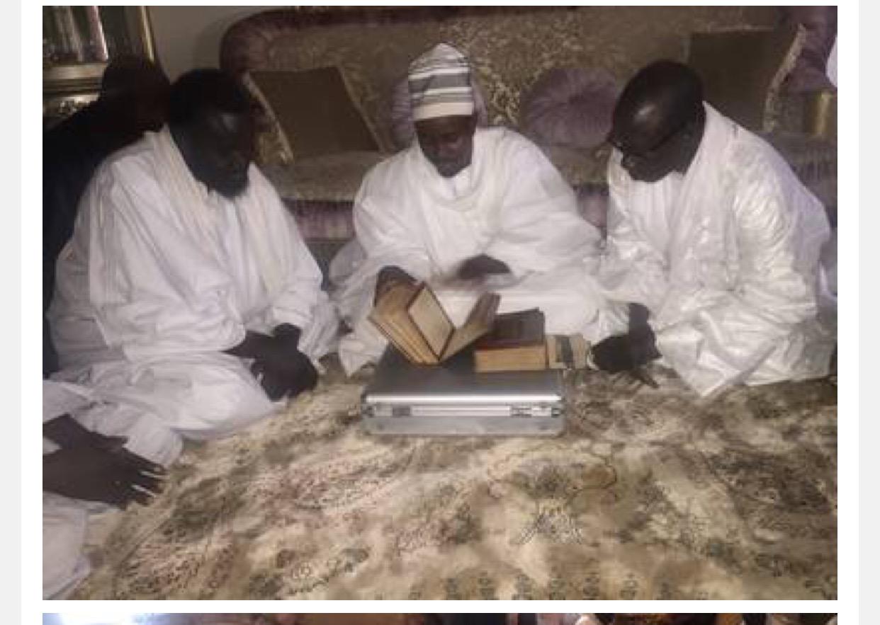 TENTÉ DU TEMPS DE CHEIKH AHMADOU BAMBA : Le livre Saint réécrit en un jour par la Rabita de Touba