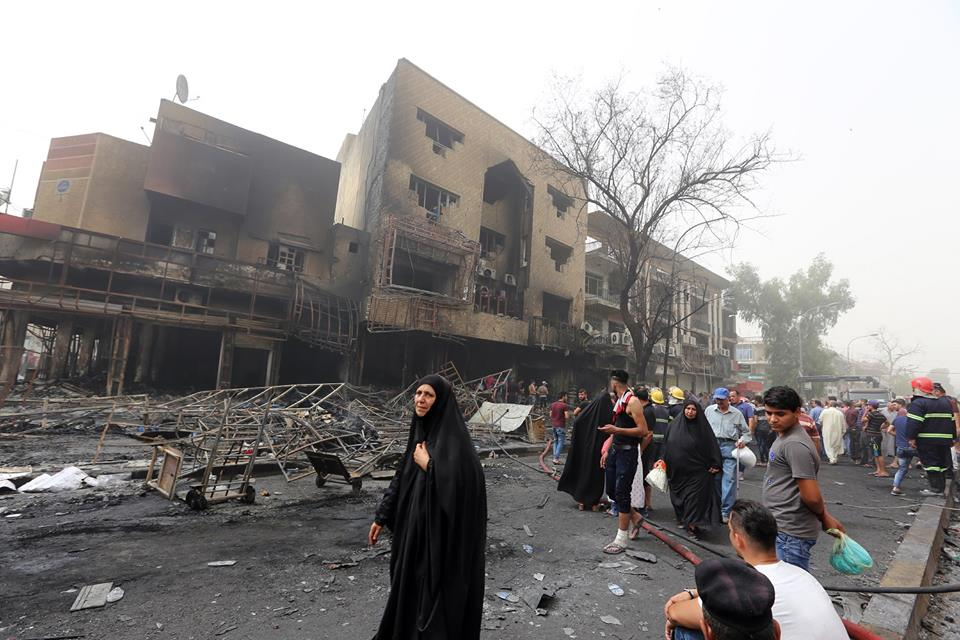 Au moins 119 morts et 140 blessés dans un attentat revendiqué par l'EI à Bagdad