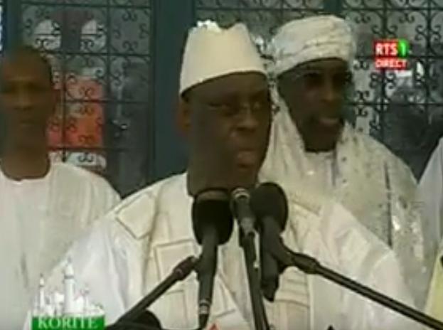 Macky Sall sur le terrorisme après la prière de la Korité : « Les citoyens doivent participer dans l'effort de défense du territoire…»