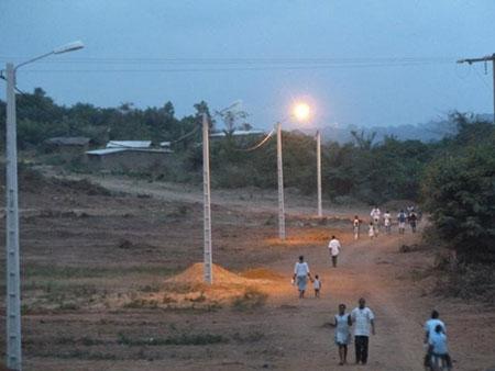 Le PUDC dispose de 5400 poteaux pour électrifier 429 villages