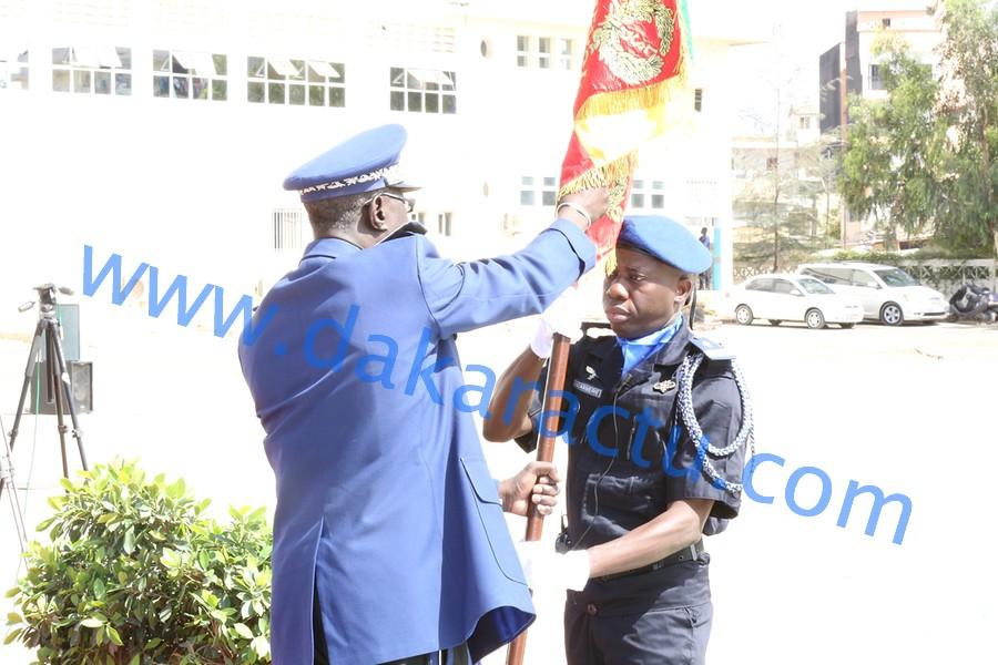 Gendarmerie : le drapeau national remis au 4e contingent sénégalais de la MINUSMA
