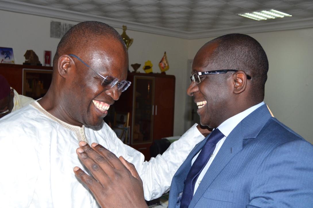 Adversaires politiques : Quand Abdoulaye Diouf Sarr et Khalifa Sall se retrouvent