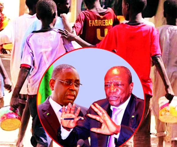 Retrait des enfants de la rue : 25 guinéens renvoyés chez eux