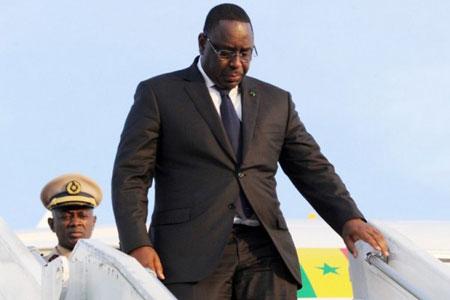 Macky Sall est arrivé à Kigali pour le 27 ème sommet de l'UA