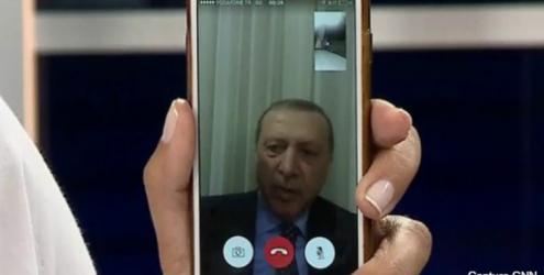Coup d'État en Turquie: Erdogan appelle les gens à descendre dans la rue