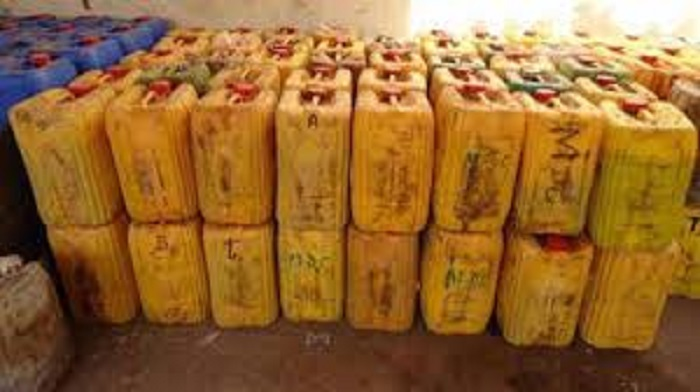 Touba : 13.000 litres de gasoil saisis, un réseau de trafic d'hydrocarbures démantelé