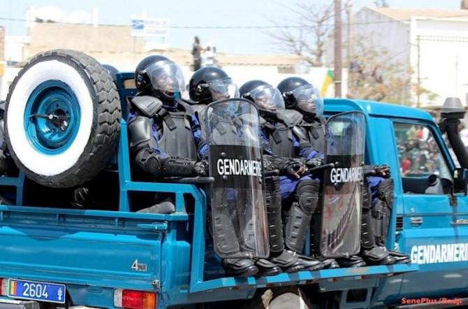 TOUBA : Vaste opération de sécurisation à la Légion Centre-Ouest