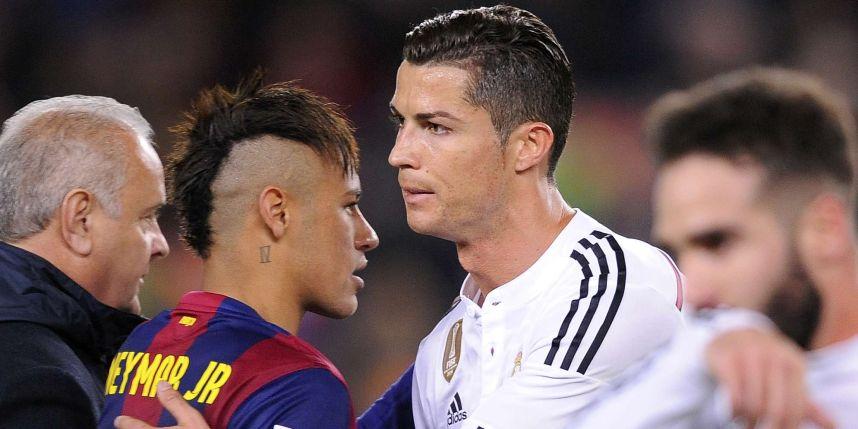 Neymar voit Cristiano Ronaldo Ballon d'Or !