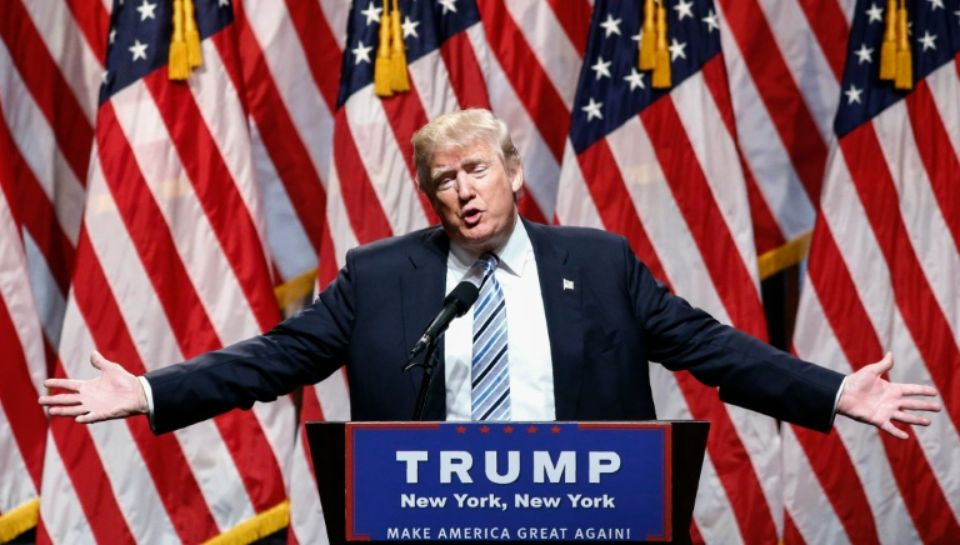 Donald Trump officiellement désigné candidat républicain à la Maison Blanche