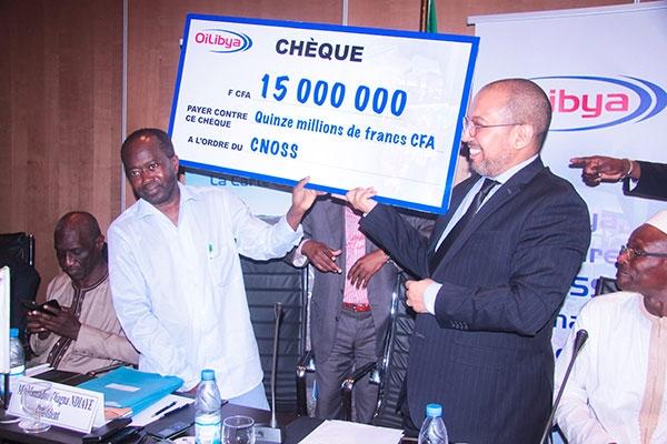 Soutien au Cnoss : 15 millions d'Oilibya pour les Jo