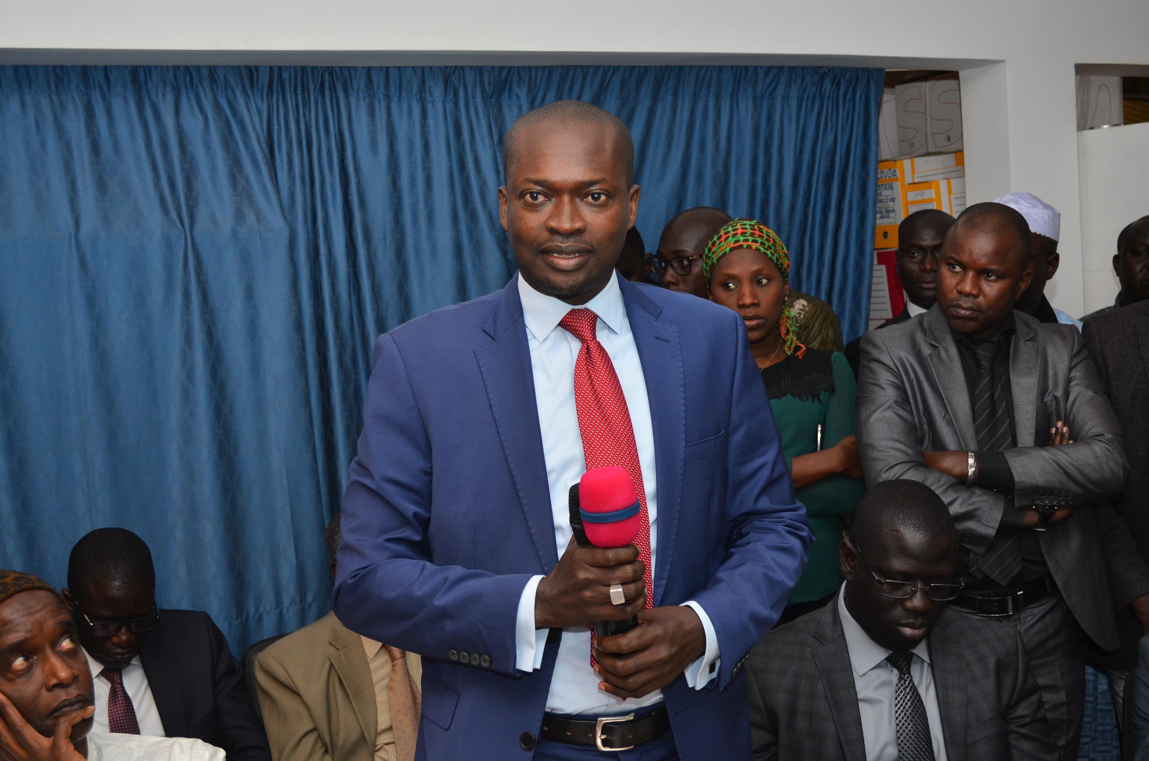 Mamadou Thiaw Secrétaire exécutif du PNDL  appuie le chef de l'état pour le rayonnement des collectivités locales de Dakar