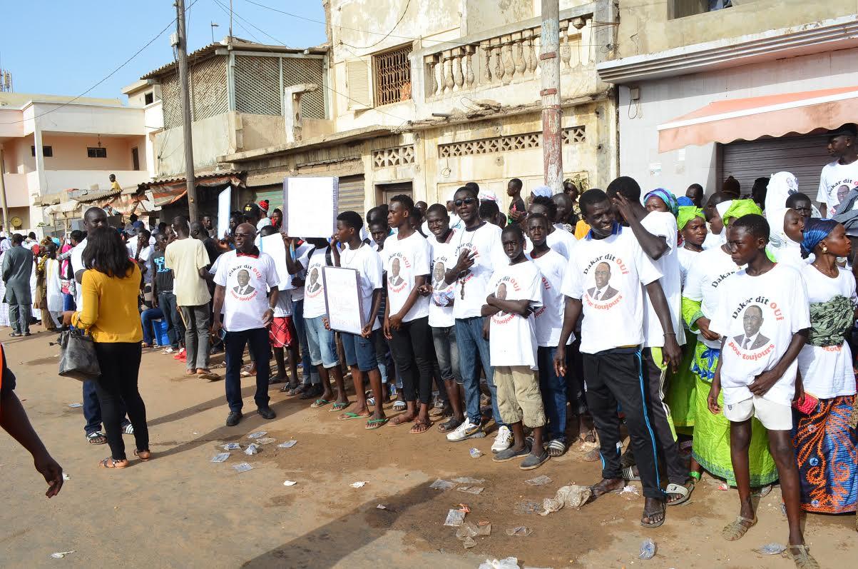Abdoulaye Diouf SARR réserve un bel accueil au chef de l'Etat à Diamalaye