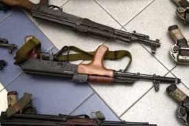 SÉDHIOU : Un homme arrêté avec 3 armes de fabrication russe