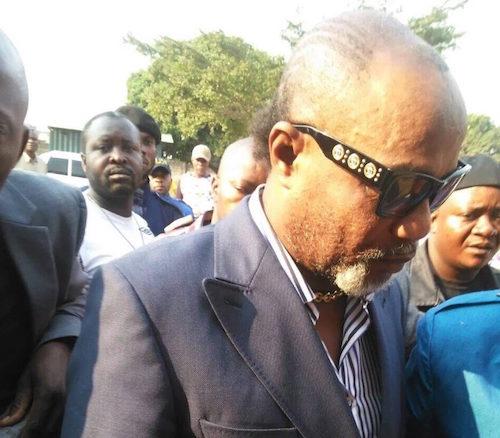 Koffi Olomide vient d'arriver à la prison de Makala à Kinshasa