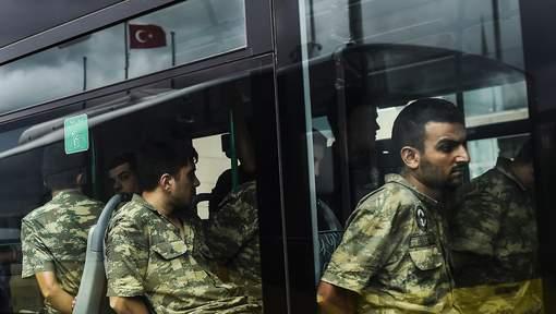 8.651 militaires auraient participé à la tentative de coup d'Etat en Turquie