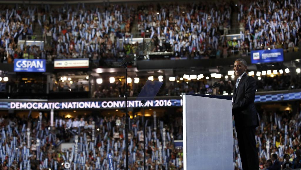 A la Une : Le discours de Barack Obama à la Convention démocrate