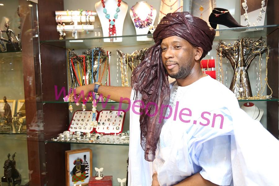 Les images de l'inauguration de la boutique de Ziz Fashion, l'Ambassadeur de la mode mauritanienne à l'hôtel Terrou Bi