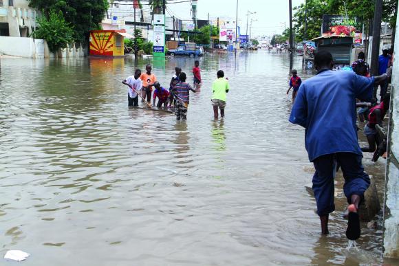 Inondation à Kaolack : Énormes dégâts matériels