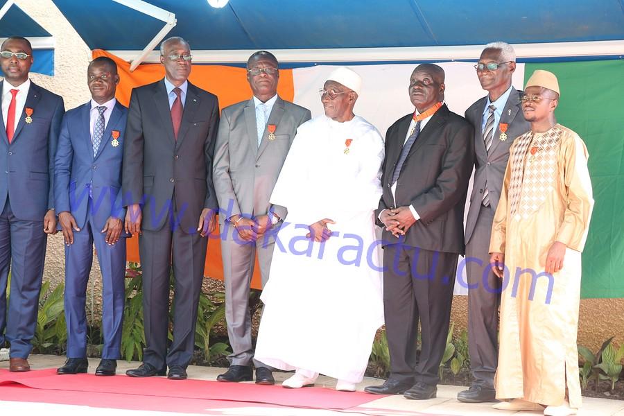 Les images de la cérémonie de décoration de l'ordre national ivoirien par la Grande Chancelière de la Côte d'Ivoire
