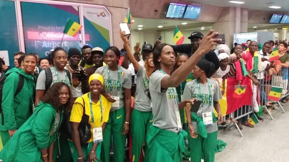 JO 2016 : Les Lionnes sont arrivées à RIO (Photo)