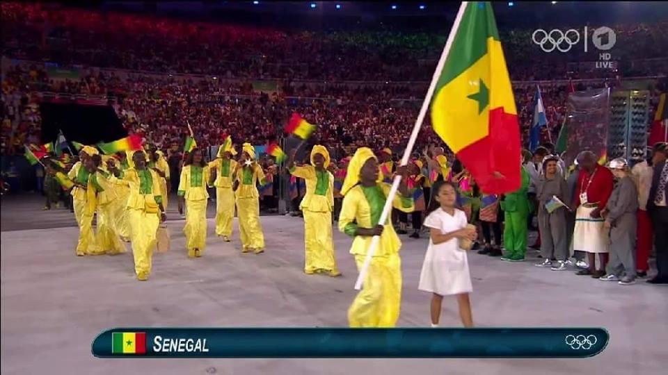 Programme des Sénégalais à RIO
