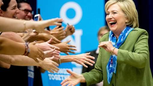 Un nouveau sondage confirme la nette avance de Clinton