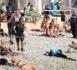 L'ISLAMOPHOBIE À SON PAROXYSME : Sur une plage de Nice la Gestapo oblige une femme musulmane à enlever son haut jugé