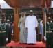 GAMBIE : Arrivée du président Sall au stade de Bakau à Banjul