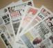 Revue de presse Dakaractu du Mercredi 15 Mars 2017 (Français)
