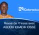 Revue de presse Dakaractu du Jeudi 16 Mars 2017 (Wolof)