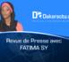 Revue de presse DAKARACTU du Mercredi 12 Avril 2017 (Français)