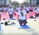 Journée internationale du Yoga célébrée par l'Ambassade de l'Inde au Sénégal.