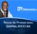 Revue de presse DAKARACTU du Vendredi 13 Octobre 2017 (Français)