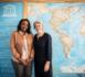 Tête à tête entre Irina Bokova et Amy Sarr Fall avant son départ de l'Unesco