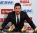 Leo Messi a reçu son 4e Soulier d'Or